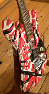 EVH Striped Series Frankie Red/White/Black