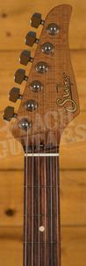 Suhr Classic T Pro Peach LTD - 3 Tone Sunburst - Roasted Maple/RW