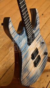 Mayones Duvell Elite 6 Blue Feather Matt - NAMM 2021 Display Guitar