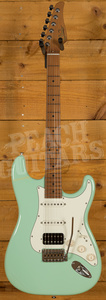 Suhr Classic Pro Peach LTD - HSS Roasted Maple Surf Green