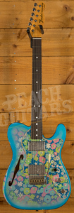 Fender Custom Shop 2020 Limited '72 Thinline Aged Blue Flower