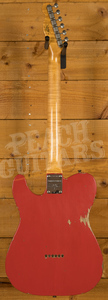 Fender Custom Shop 2020 Limited '60s Telecaster Thinline Aged Fiesta Red