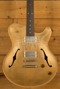 Nik Huber Rietbergen Standard Curly Maple Top Trans Gold Metallic