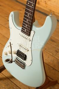 Suhr Classic Pro Peach LTD - HSS Rosewood Sonic Blue Left Handed