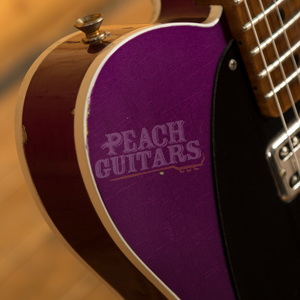 Fender Custom Shop '52 Tele Purple Metallic over Inca Silver