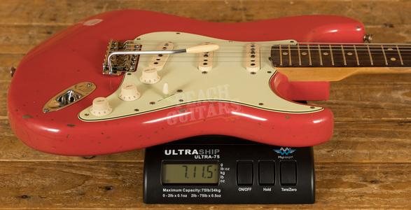 Fender Custom Shop '60 Strat Relic Rosewood Fiesta Red