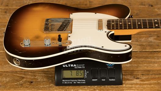 Fender Custom Shop 62 Tele Custom Relic Brazilian Used
