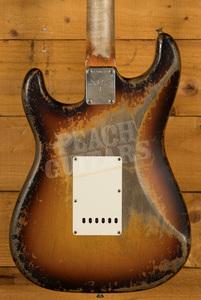 Fender Custom Shop '61 Strat Ultra Relic 3 Tone Sunburst Dale Wilson
