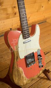 Fender Custom Shop '63 Tele SFA Tahitian Coral