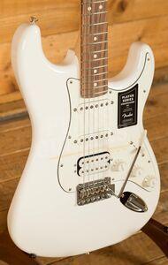 Fender Player Series Strat HSS Pau Ferro Fingerboard Polar White