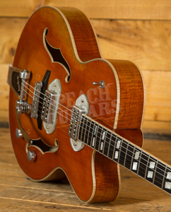 Eastman T58V Antique Amber Finish