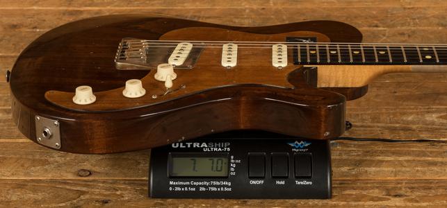 Knaggs Chesapeake Choptank Joe's Guitar, Maccasser Ebony - Gloss Relic