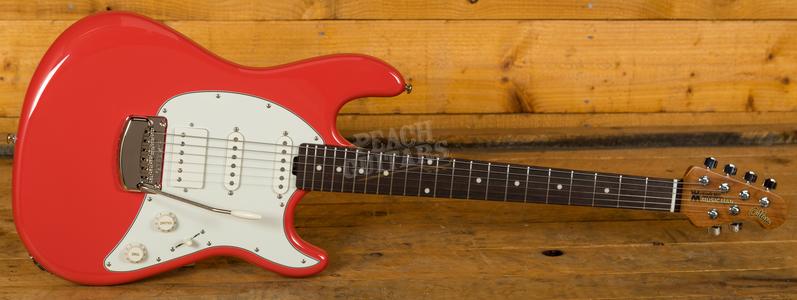 Music Man Cutlass HSS Coral Red Rosewood