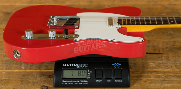 Fender Custom Shop 60s Tele Journeyman Relic Aged Fiesta Red