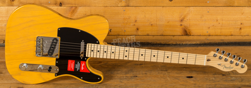 Fender American Pro Tele Butterscotch Blonde Maple Neck