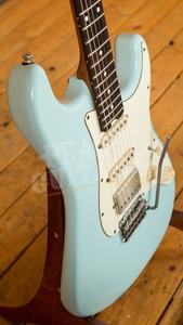 Schecter USA Custom Shop Traditional II Wembley Sonic Blue