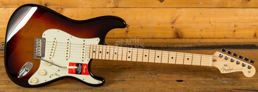 Fender American Pro Strat 3-Tone Sunburst Maple Neck