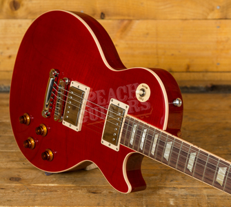 Gibson USA 2019 Les Paul Traditional - Cherry Red Translucent