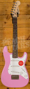 Squier Mini Strat Laurel Fingerboard Pink