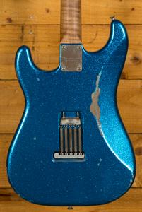 Xotic California Classic XSC-1 Blue Sparkle Medium Aged Roasted 5A Neck