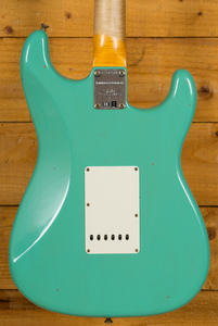 Fender Custom Shop Limited Edition '60 Strat Journeyman LH Aged Sea Foam Green