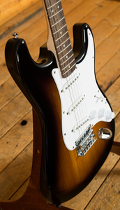 Squier Bullet Strat Hardtail Brown Sunburst