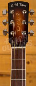 Gold Tone Paul Beard Signature Square Neck Resonator