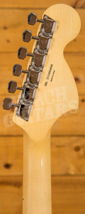 Fender MIJ Traditional 68 Stratocaster Left Handed Arctic White Maple Neck