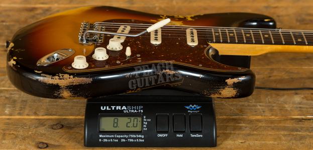 Fender Custom Shop 59 Strat Heavy Relic RW 3TSB