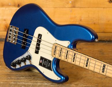 Fender American Ultra Jazz Bass Cobra Blue Maple