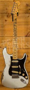 Fender Custom Shop Jason Smith Masterbuilt 69 Strat Relic Inca Silver