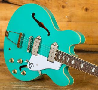 Epiphone Casino Hollowbody Electric Guitar - Turquoise