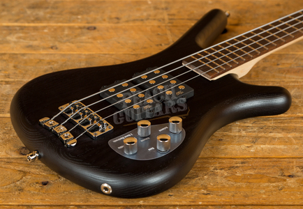 Warwick RockBass Corvette $$ 4-String - Nirvana Black Transparent Satin