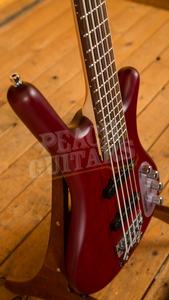 Warwick RockBass Corvette Basic 5-String - Burgundy Red Transparent Satin