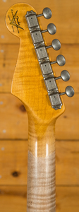 Fender Custom Shop 64 Strat Relic NAMM Limited Faded Aged Olympic White