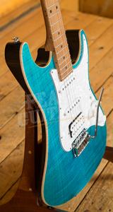 Suhr Standard Plus Bahama Blue Maple