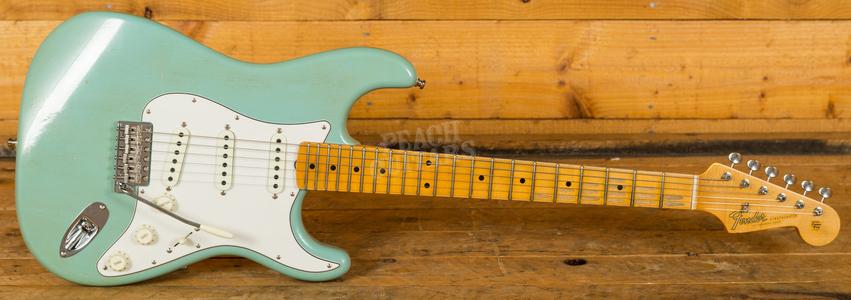 Fender Custom Shop 2018 Postmodern Strat Aged Daphne Blue