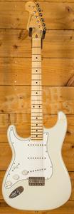 Fender Custom Shop 59 Strat NOS Olympic White Maple Neck Left Handed
