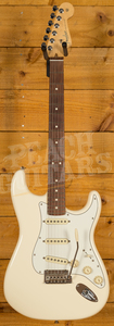 Fender American Pro Strat Olympic White Rosewood