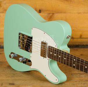Fender American Performer Tele Rosewood Satin Surf Green