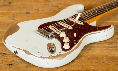 Fender Custom Shop 59 Heavy Relic Strat Olympic White