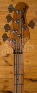 Music Man Stringray 5 string 2018 spec - Dropped Copper Roasted Maple