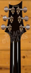 PRS Custom 24 Charcoal Burst Pattern Thin 85/15