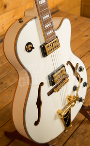 Epiphone Emperor Swingster White Royale