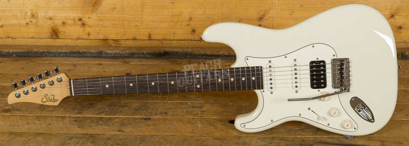 Suhr Classic Pro Olympic White HSS RW Left Handed