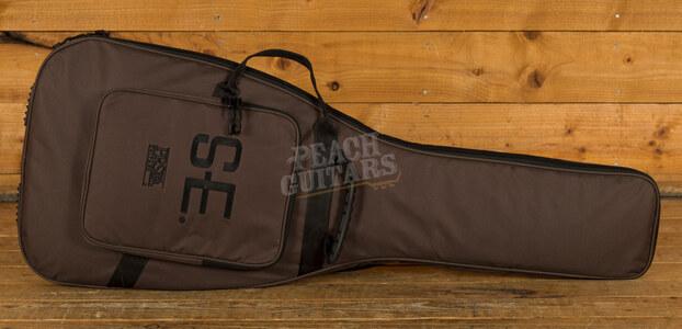 PRS SE Custom 24 Left Handed Charcoal Burst