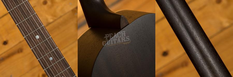 Martin 00-17S Black Smoke | Fishman Matrix Infinity VT Free Fitting
