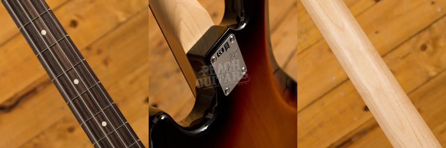 Fender American Performer Jazz Bass Rosewood 3 Tone Sunburst