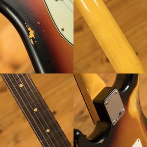 Fender Custom Shop - '60 Strat - Relic 3 Tone Sunburst