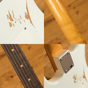 Fender Custom Shop - '60 Strat - Relic Olympic White